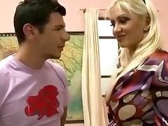 Anal Loving Teacher In Nylons