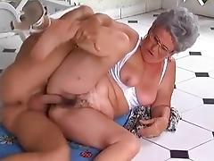 Grandma, German, Granny, Mature, Old, Grandma