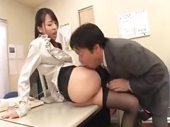 Good looking Asian women doing cosplay and getting fucked