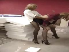 Homemade crossdressers blowjob and anal
