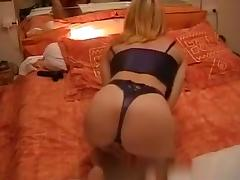 French mature couple have a wild sex session in their bedroom