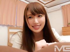 Amateur individual shooting, post. 619 Natsuki 20-year-old college student