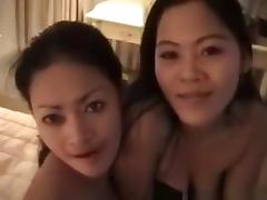Party guy has a threesome with 2 pattaya girls