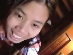 Thai, Asian, Blowjob, Cumshot, Cute, Fucking