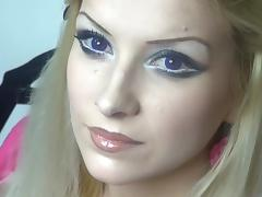 I'm giving deep throat bj in my blonde amateur clip