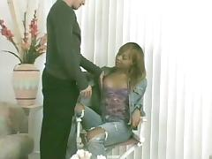 Black Transsexual Poking