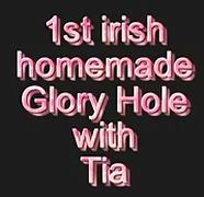 1St ever homemade gloryhole with Tia