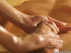 Good Girth Massage for Big Cock
