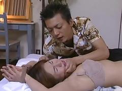 Submissive Japanese milf moans throughout a hardcore fuck