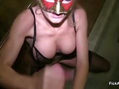 German Hot Teen in Prison Fuck by Stranger