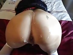 Dilettante Cutie Fucked Right Into An Asshole POV