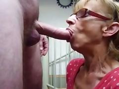 Grandmother, Cum, Granny, Mature, Old, Grandma