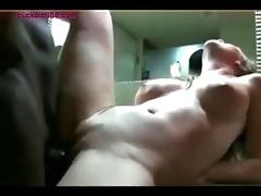 Secret Bathroom sex with MILF cuckold666 com