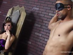Venus Face Fucks Her ### And Cums On His Chest