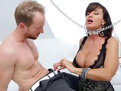 Milf released from chains and banged in her slippery pussy