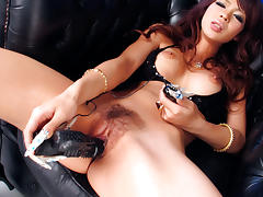 Exotic Japanese model Rukia Mochizuki in Horny JAV uncensored Lingerie clip