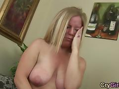 Housewife, Housewife, Masturbation, Mature, Orgasm, Crying