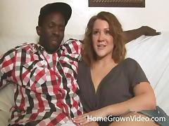 White mom gets fucked by a hung black stud and she loves every inch