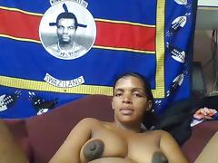 Black Granny, Babe, Black, Ebony, Mature, Nipples