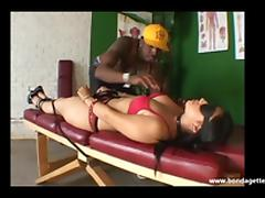 Rough latina bondage sex and blindfolded fetish fucking of JJ Cruz in south american kink and submissive hardcore