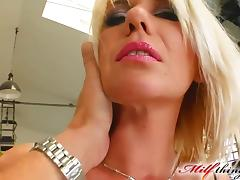 Milf Thing MILF ### works her clients cock