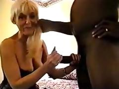 Black Mature, Big Cock, Black, Blonde, Cuckold, Ebony