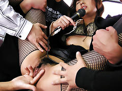 Uncensored, Asian, Japanese, Outdoor, Slut, Stockings