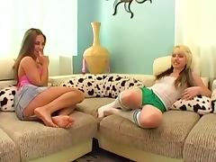Lexi and Lindsay Lesbian Playtime