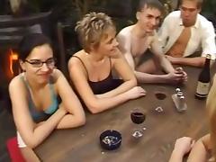 German, Gangbang, German, Group, Mature, Orgy