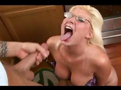 Really big and really fake cumshots #4