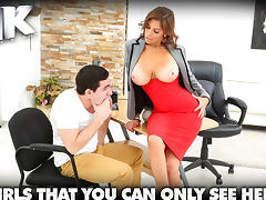 Kitana & Peter Green in Boob raise - BigTitsBoss