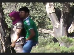 Voyeur, Amateur, Arab, Big Tits, Caught, Couple