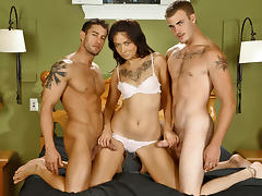 Coco Velvet & Christian Wilde & Cody Cummings in Coco have a double dose of pleasure  XXX Video