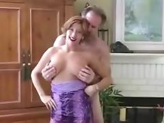 Amateur Milf big cock blowjob red lipstick pov