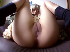 Crazy Japanese chick Airi Sato in Best JAV censored Cunnilingus, Blonde movie