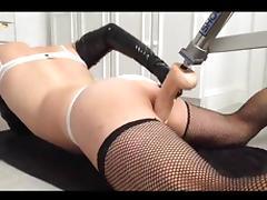 pvcsissy anal orgasm