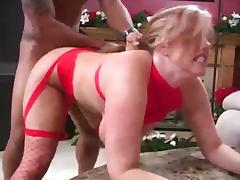 Mature star with Amateur