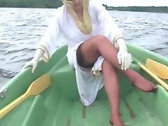 Boating In Nylons