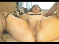 Morning daily Masturbating Chubby GF wet dripping pussy