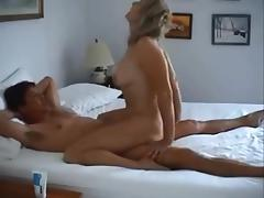 Blonde wife homemade
