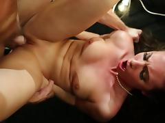 Deep fingering makes Casey very horny and ready for the boner