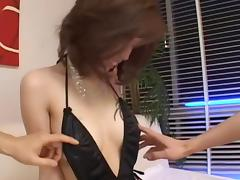 Lina Aishima Uncensored Hardcore Video with Creampie, Dildos/Toys scenes