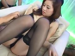 Reina Yoshii Uncensored Hardcore Video with Gangbang, Creampie scenes