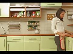 junior couple fuck at kitchen