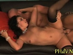 Sex with big tit hottie porn video