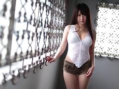 Arisa Misato spreads her sexy legs and gets what she wanted