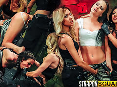 Brooklyn Daniels is Up for Slave Training with Mila Blaze & Lexy Villa - StrapOnSquad