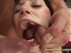 extreme deep anal fisting lesson