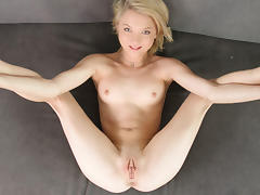 Audition, Audition, Blonde, Casting, College, Small Tits