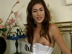 Randy dude screws tranny before wedding